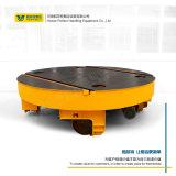 10噸自動化電動轉盤電機調速器車間加工送料軌道小車