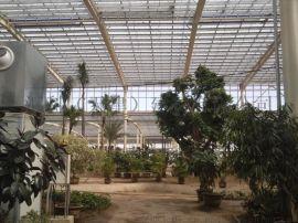 阳光板温室大棚透明两层