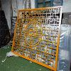 九江仿木紋鋁花格窗 室內木紋鋁花格窗廠家