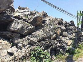 贵州英石 鱼池摆件假山石 庭院景观大英石