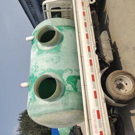 工业污水净化池玻璃钢缠绕式水处理罐供应