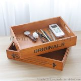 實木木質化妝品收納盒木製整理收藏盒