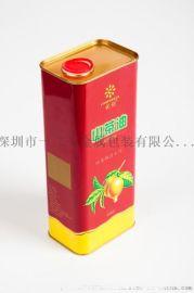 5L定制食品级食用山茶油马口铁罐免费拿样
