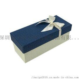 新款蝴蝶结天地盖节日礼品礼物盒生日玫瑰礼品盒定制