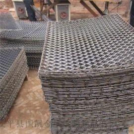 松原菱形钢板网冲剪钢竹笆 建筑工地用钢笆片
