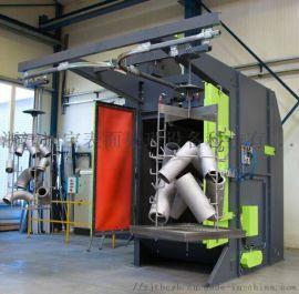 吊钩式悬挂抛丸机 双吊钩式表面除锈强化抛丸清理机