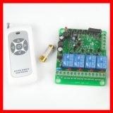 4路48V110V220V10A無線遙控開關四通道燈具門禁遙控控制點動開關