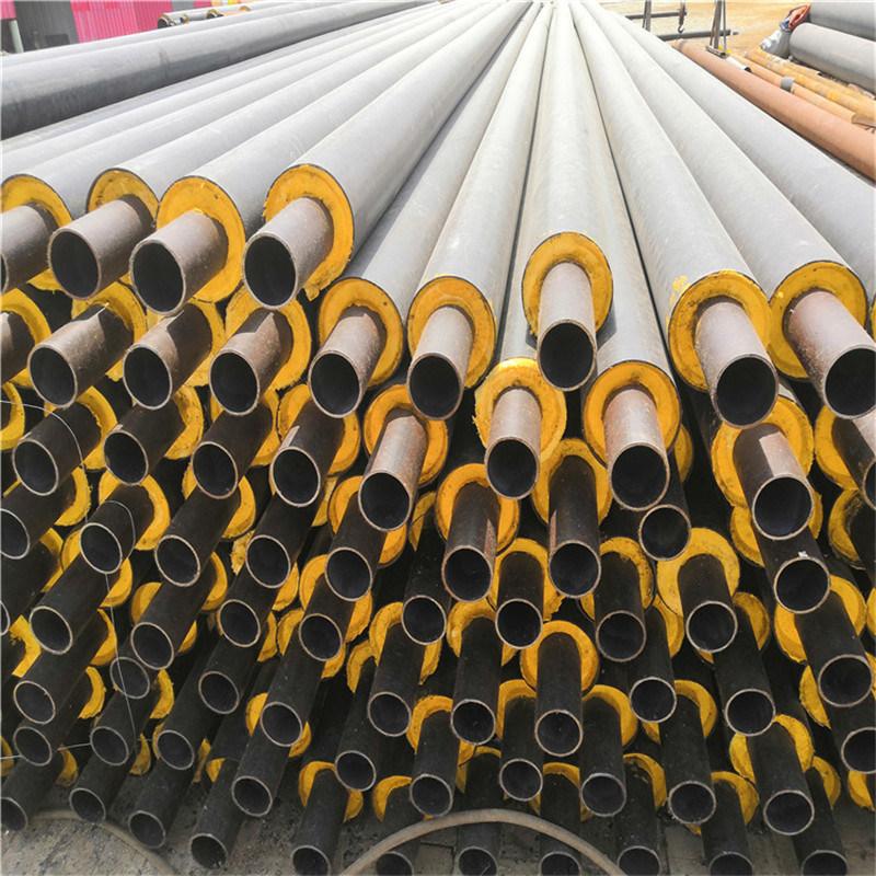 三亚 鑫龙日升 聚乙烯塑料预制聚氨酯保温管DN150/159直埋聚氨酯保温管