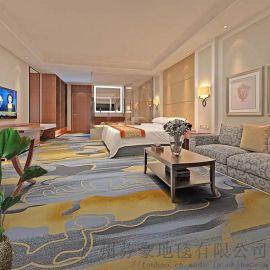 酒店KTV卧室办走廊满铺涤纶印花地毯