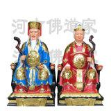 佛道家土地神像制作 山神爷雕像 山神菩萨厂