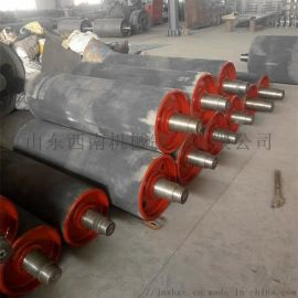 港口皮带包胶改向滚筒,630包胶改向滚筒总成