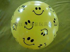 pvc充气球 足球 沙滩球 广告球
