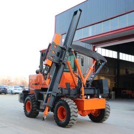 厂家直销护栏打桩机 装载式空压一体机 波形公路桩机