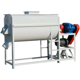 有效容积4立方的单轴双螺带混合机 饲料搅拌机山东