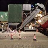 廣東集裝箱倒灰機 碼頭翻箱粉料卸灰機 自動卸車機