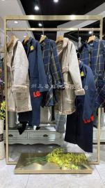 尼桑潮牌北方服装折扣进货/爆款尾货女装服装市场