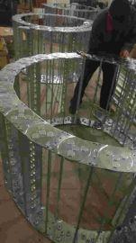 工业框架设备钢制拖链 沧州辰睿设备钢制拖链