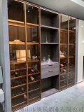 20极简玻璃门模具厂家 极简轻奢玻璃柜门材料供应