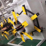 塑料管材缠模机 PVC排水管材缠绕机 pe管材全自动缠膜机