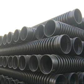 PE缠绕结构壁B型管克拉管螺旋缠绕管聚乙烯缠绕管