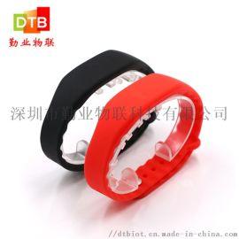 识别手环 NFC手环 RFID硅胶腕带