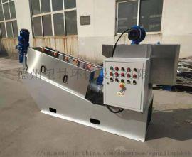 餐厨垃圾污水处理设备 304不锈钢污泥脱水机厂家