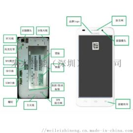 手机辅料有无、定位、破损高速在线ccd视觉检测