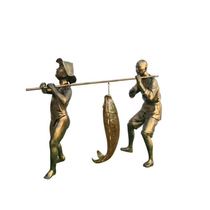 防城港玻璃钢仿铜人物雕塑服务周到