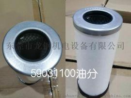 59031100日立空压机配件油气分离器芯