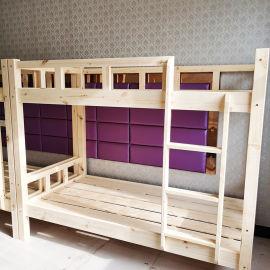 郑州上下床批发上下铺高低床定制上下床实木厂家货源