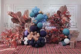 清远万达时代广场商场活动布置开业装饰气球展览
