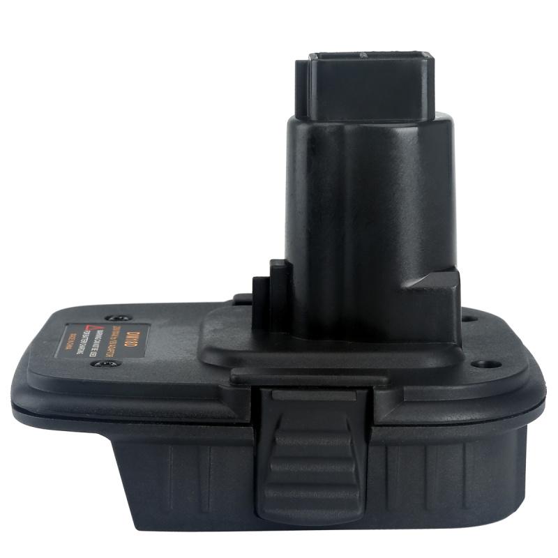 适用于得伟电动工具电池转换器适配器DM18D