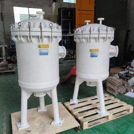 pp多袋式过滤器 塑胶 聚丙烯材质过滤器