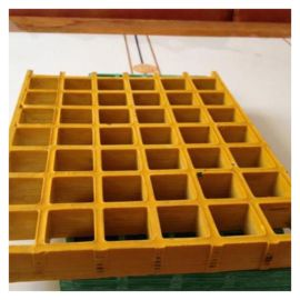 霈凯格栅 化工厂玻璃钢盖板格栅 工业格栅