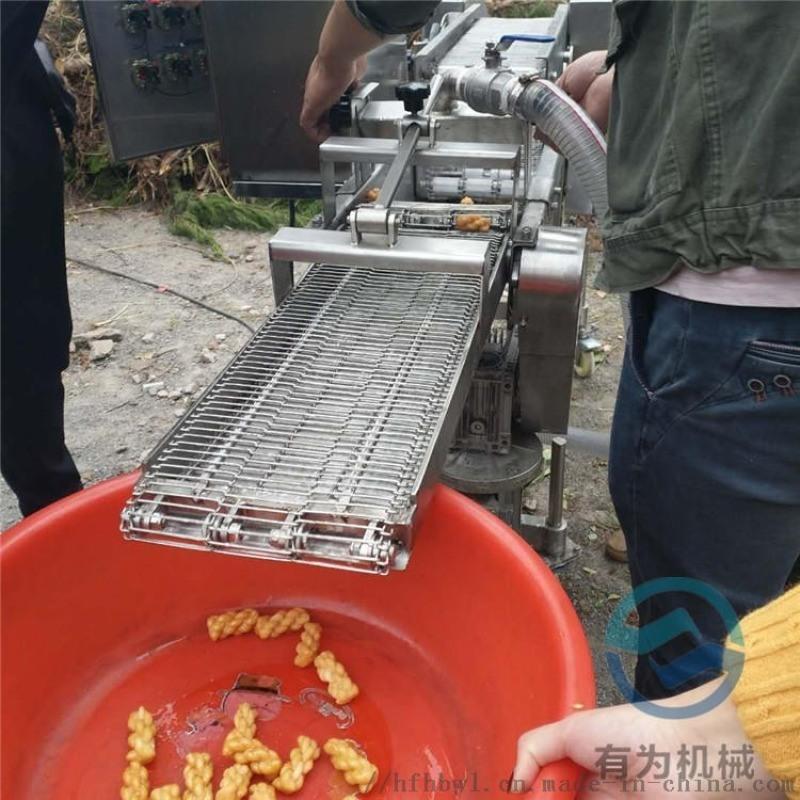 麻花上糖机 潜入式麻花裹麦芽糖设备