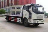 高速救援车解放J6清障车超长车箱载重10吨