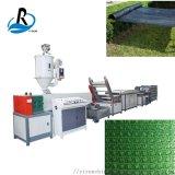 人造草坪拉丝机组PPPE塑料扁丝凉席藤条拉丝机