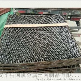 钢笆片 建筑脚踏网 菱形拉伸网片 走道板