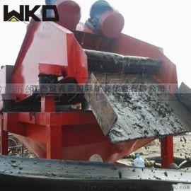 泥浆矿砂分离直线筛洗沙尾矿处理量细砂回收一体机