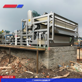 城市污泥脱水,大型设备供应商人工制沙场泥浆处理设备