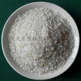 白色大小颗粒规格50kg包装吨袋石英砂