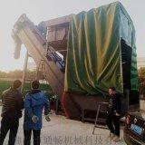 連雲港集裝箱卸灰機 無塵翻箱卸料機 散水泥拆箱機