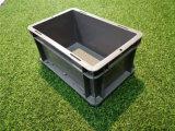 绥化【EU物流箱】灰色塑料箱欧式标准箱厂家