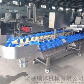 全自动龙虾分级机 龙虾重量分选机 龙虾分级别设备