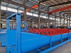 螺旋洗砂机厂家 双螺旋洗石机生产线 小型沙石粉水洗