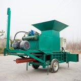 方捆草料压块机 大型方捆压块机 卧式方捆压块机