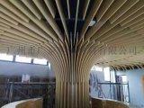 广州商场大厅中心立柱镂空铝单板弧形包柱雕花铝单板
