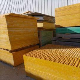 玻璃钢化工用格栅板可拼接网格栅板定制