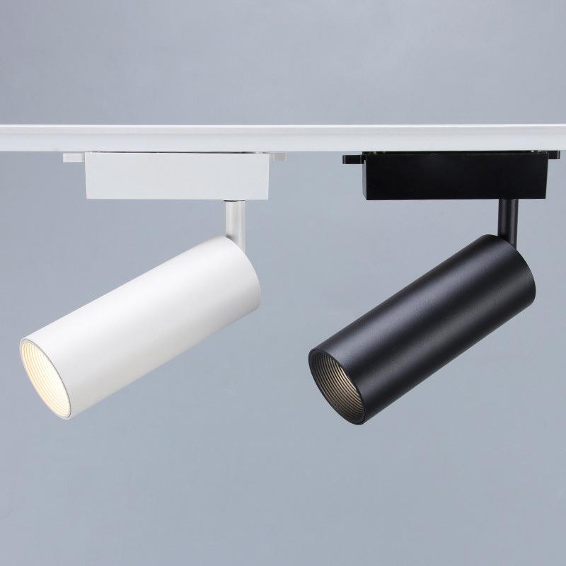 led射灯 商用家用背景墙轨道灯 明装COB导轨灯