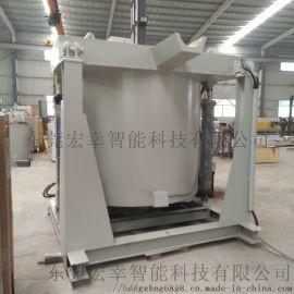 东莞工业炉设备 可倾式熔化炉 可倾式坩埚熔铝炉